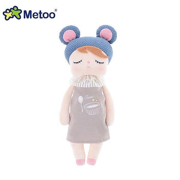 Boneca Metoo Doll Angela Doceira Retro Bear Marrom 46 cm