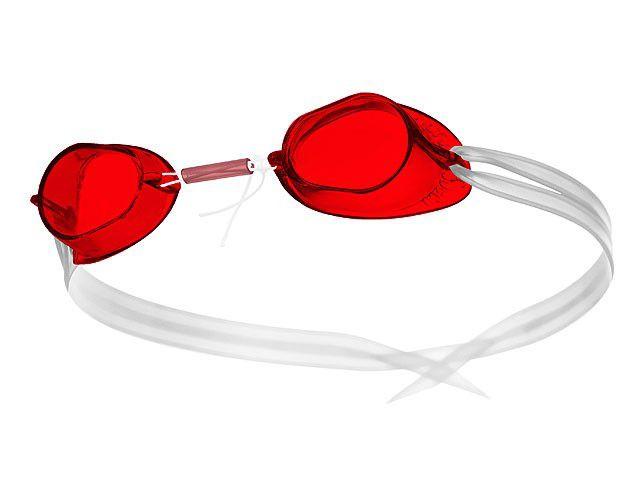 Óculos Natação Sueco Vermelho
