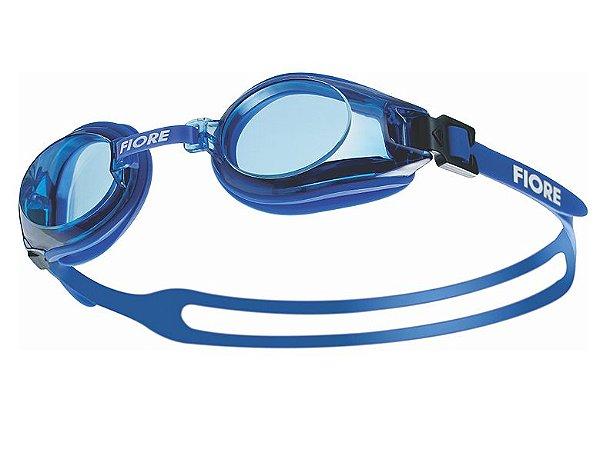 Óculos Para Natação V12 Fiore Azul