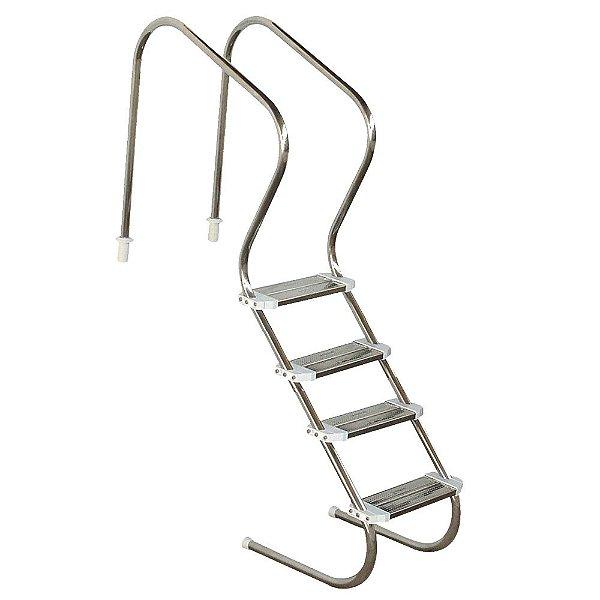 Escada Para Hidroterapia Em Aço Inoxidável