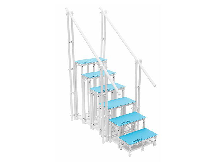 Escada Para Hidroterapia Em Pvc