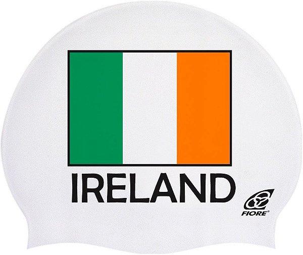 Touca De Silicone Para Natação Bandeira Da Irlanda