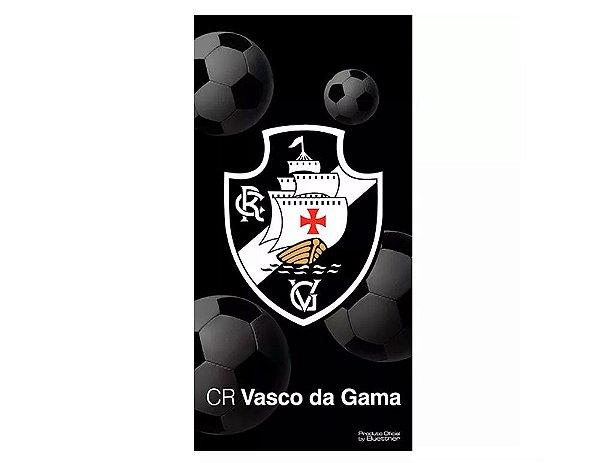 Toalha De Banho Veludo Vasco Brasão
