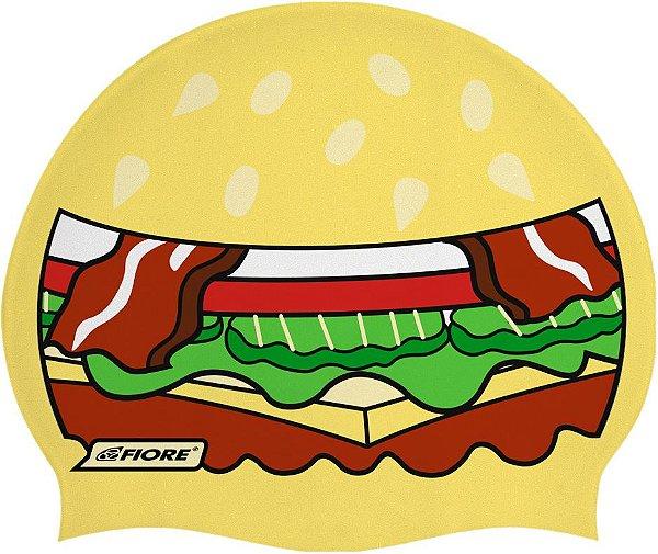 Touca De Silicone Para Natação Fiore Big Mac