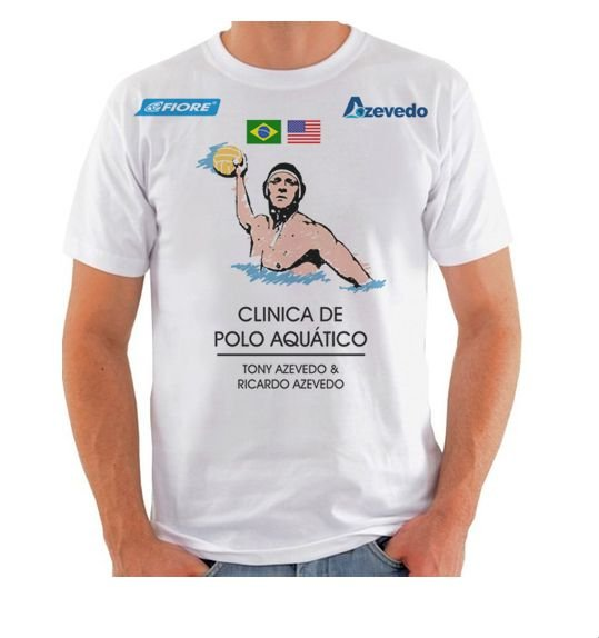 Camiseta Clínica Polo Aquático