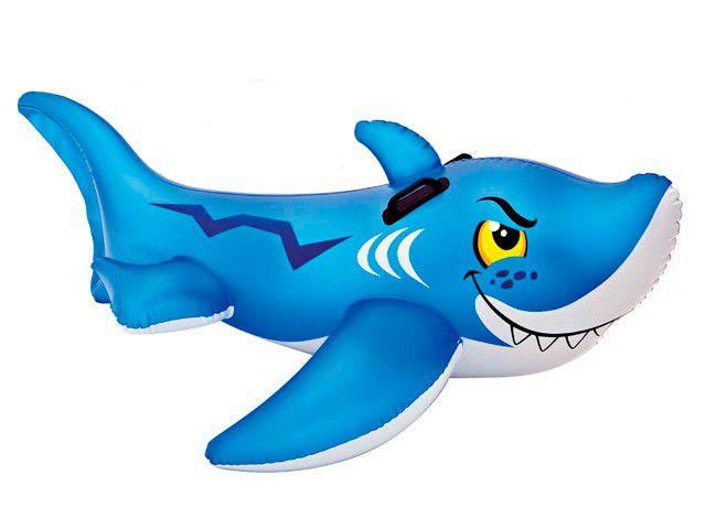Bote Inflável Tubarão Amigão Infantil