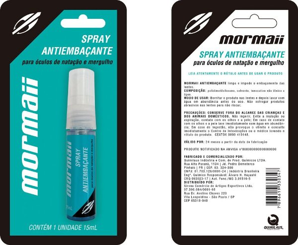 Antiembaçante Spray Mormaii