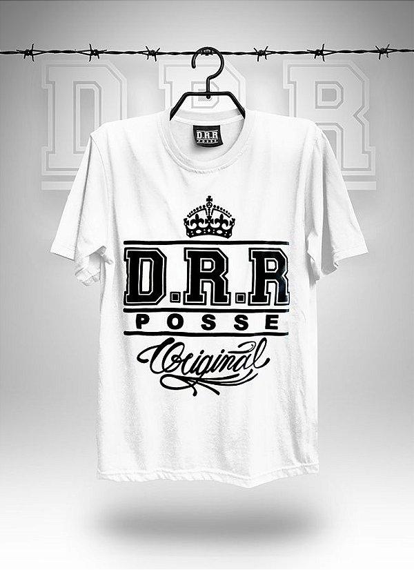 Camiseta Branca DRR POSSE ORIGINAL