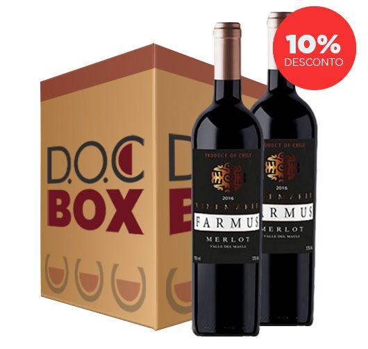 FARMUS WINEMAKER MERLOT 2016 - DOC BOX 2 GARRAFAS
