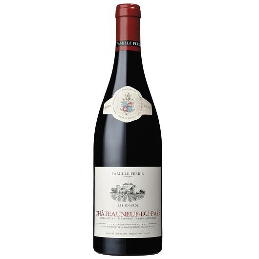CHATEAUNEUF-DU-PAPE LES SINARDS FAMILLE PERRIN 2012