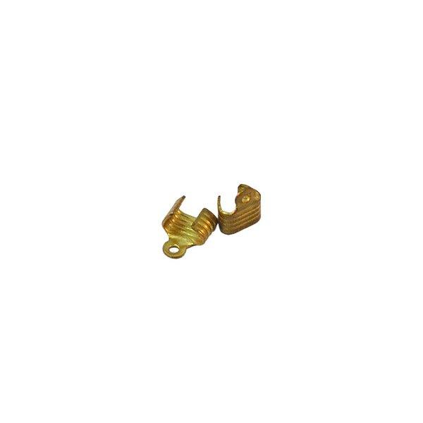 01-0030 - Pacote com 1000 Terminais Tip em Latão 07mmx09mm