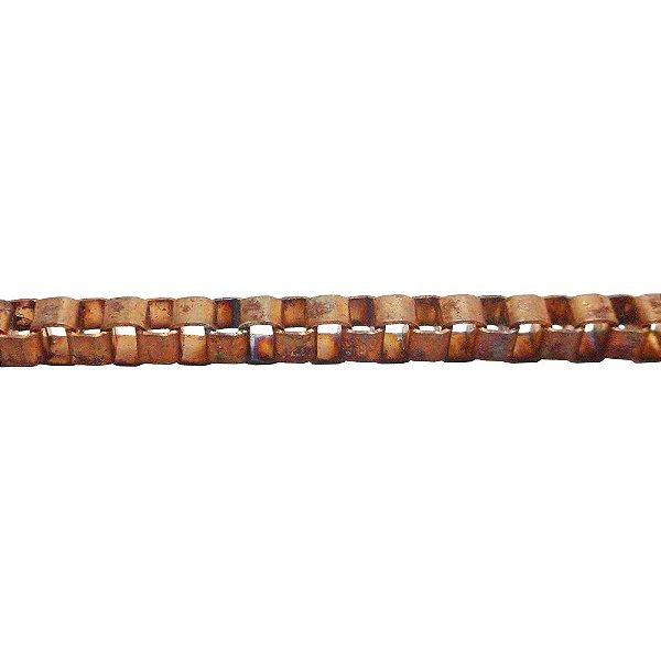 09-0233 - Rolo com 100 Metros de Corrente Veneziana em Ferro 3mm
