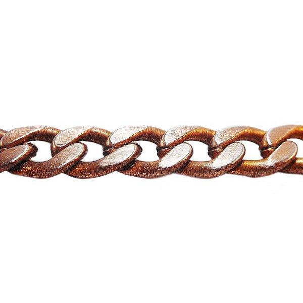 09-0232 - Rolo com 100 Metros de Corrente Grumet em Ferro 7mm