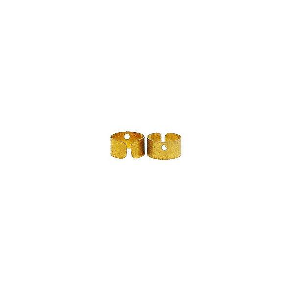 01-1318 - Pacote com 2000 Bases em Latão para Brinco 9mm