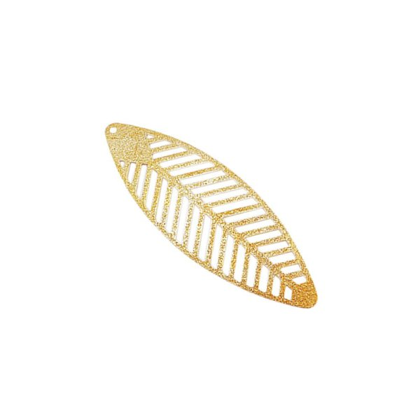 01-1743 - 1/2Kg de Estamparia Diamantada Folha Vazada 60mmx21mm