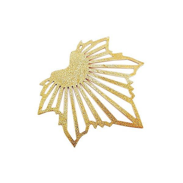 01-1758 - 1/2Kg de Estamparia Diamantada Folha Outono 46mmx48mm