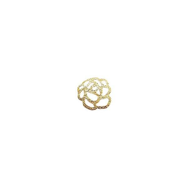 01-1768 - 1/2Kg de Estamparia Diamantada Flor Pequena 10mm