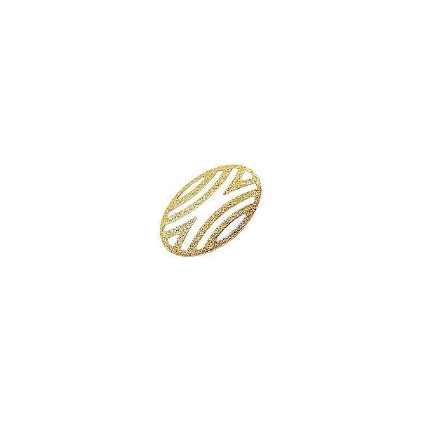 01-1770 - 1/2Kg de Estamparia Diamantada Oval Média 20mmx14mm