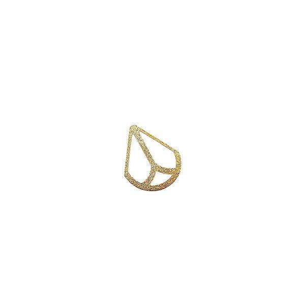 01-1776 - 1/2Kg de Estamparia Diamantada Gota Pequena 22mmx17mm