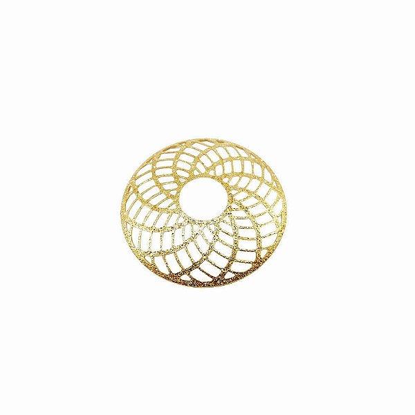 01-1583 - 1/2Kg de Estamparia Diamantada Mandala 29mm
