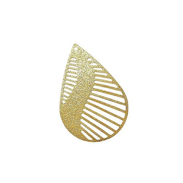 01-1565 - 1/2Kg de Estamparia Diamantada Gota com Recortes 19mmx5mm