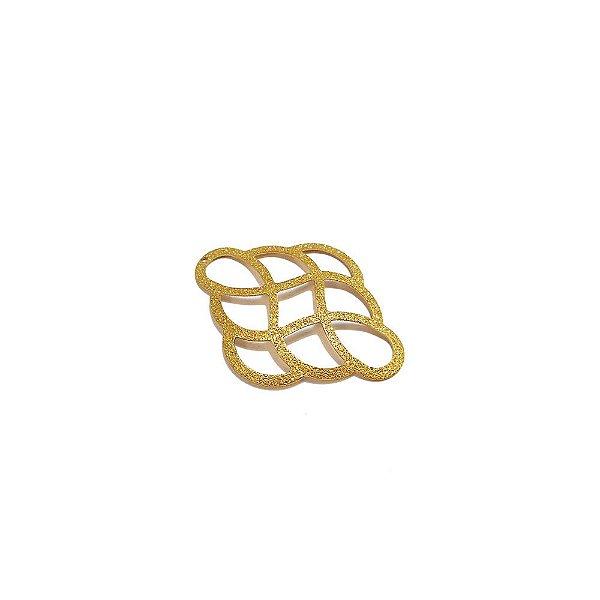01-1652 - 1/2Kg de Estamparia Diamantada Infinito 33xmm26mm