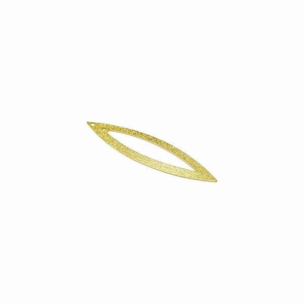 01-0543 - 1/2Kg de Estamparia Diamantada Navete Recortada 52mmx12mm