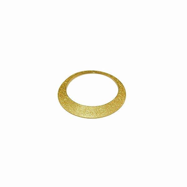 01-1437 - 1/2Kg de Estamparia Diamantada Aro Abaulado 36mm