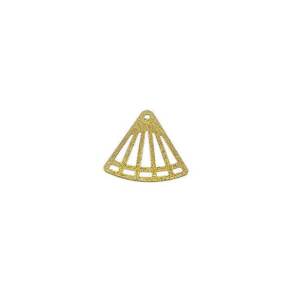 01-1892 - 1/2Kg de Estamparia Diamantada Triângulo Vazado 17mmx16mm