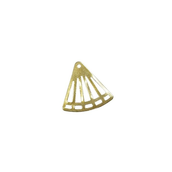 01-2049 - 1/2Kg de Estamparia Lisa Triângulo Vazado 17mmx16mm