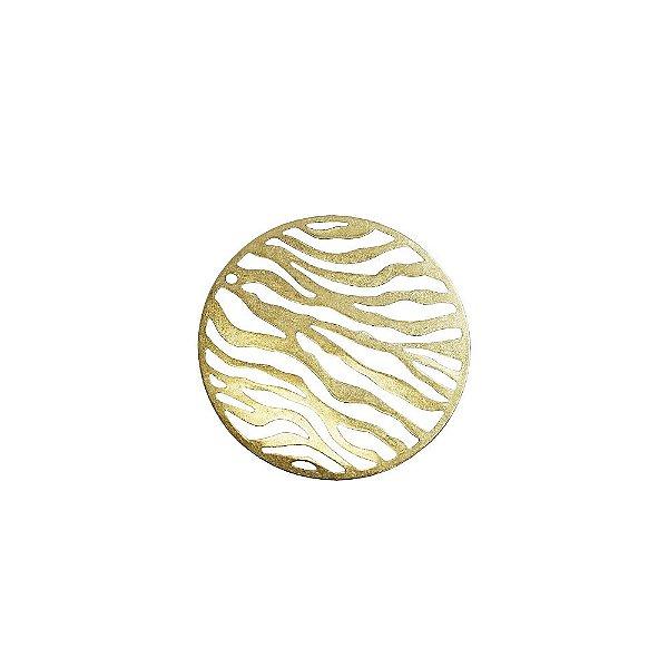 01-2052 - 1/2Kg de Estamparia Lisa Redonda Zebra 31mm