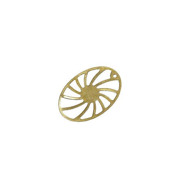 01-2060 - 1/2Kg de Estamparia Lisa Roda Espiral 18mmx27mm