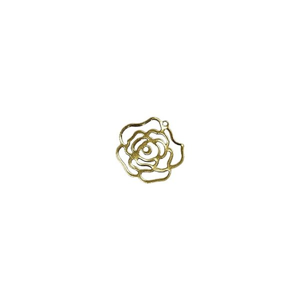 01-2067 - 1/2Kg de Estamparia Lisa Flor Pequena 15mm