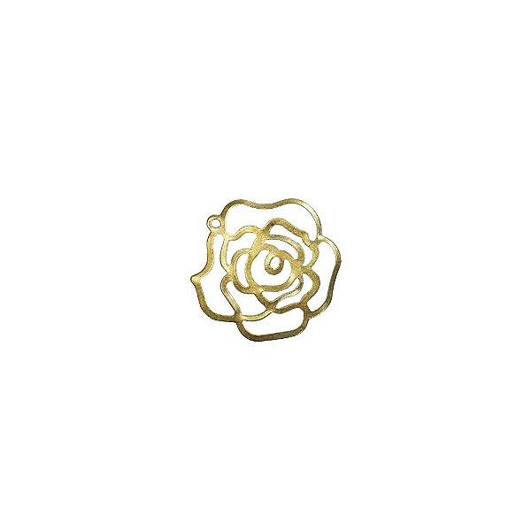 01-2068 - 1/2Kg de Estamparia Lisa Flor Grande 23mm