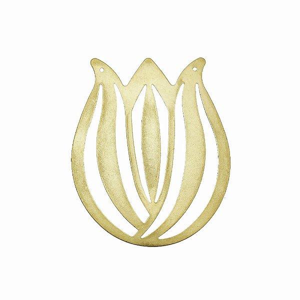 01-2085 - 1/2Kg de Estamparia Lisa Tulipa 45mmx55mm