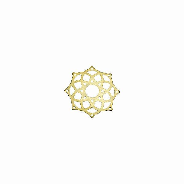 01-2089 - 1/2Kg de Estamparia Lisa Mandala Pequena 24,5mm