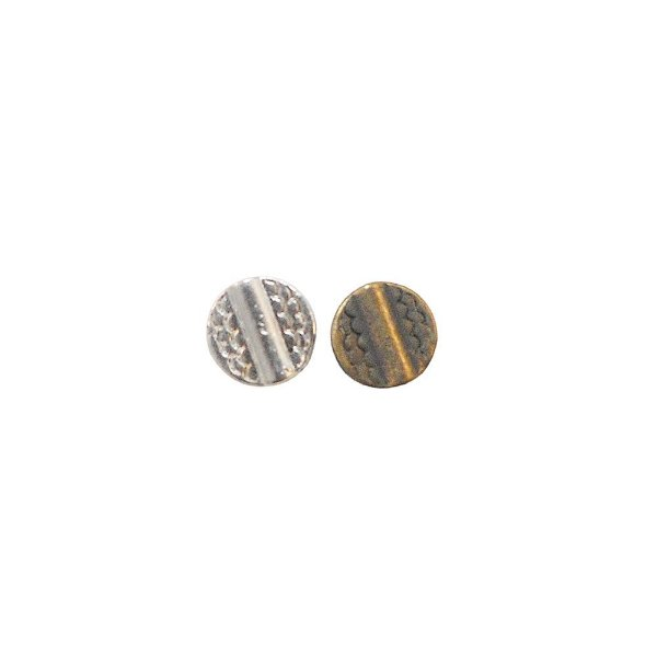 01-0866 - Pacote com 1/2 Kg de Entremeio Redondo com Detalhes 10mm