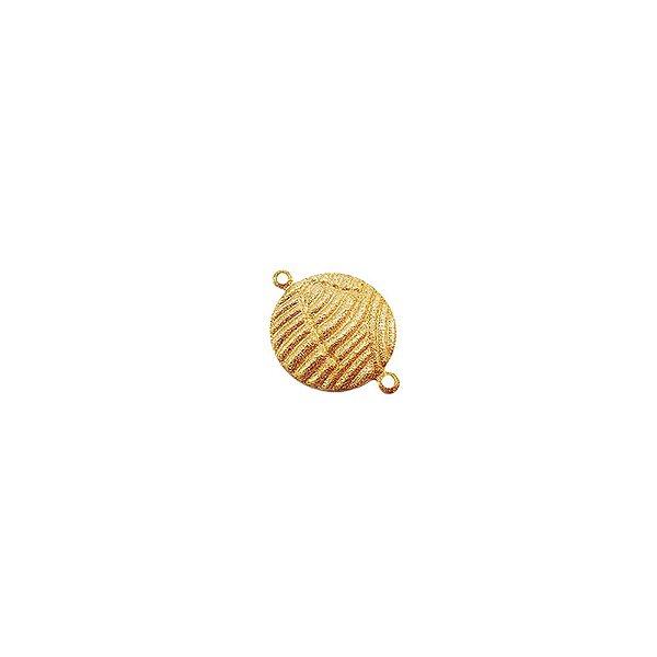 01-1774 - Pacote com 1/2 Kg de Entremeio Diamantado Redondo Ondas 16mm