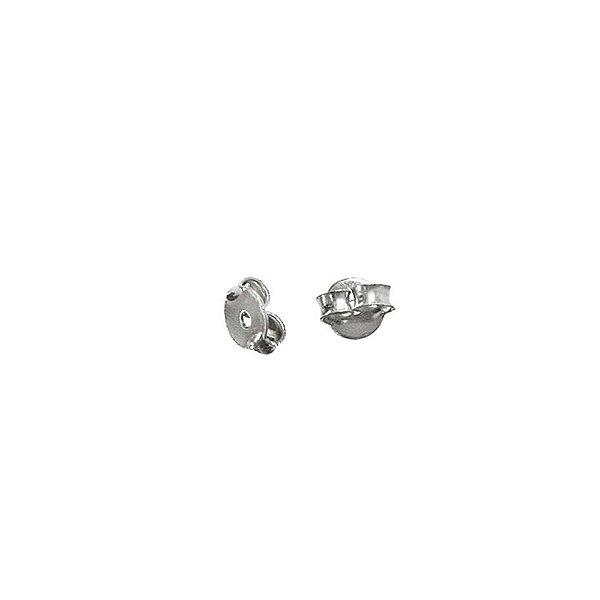 01-1088 - Pacote com 1000 Tarraxas Níquel para Brinco 5mm