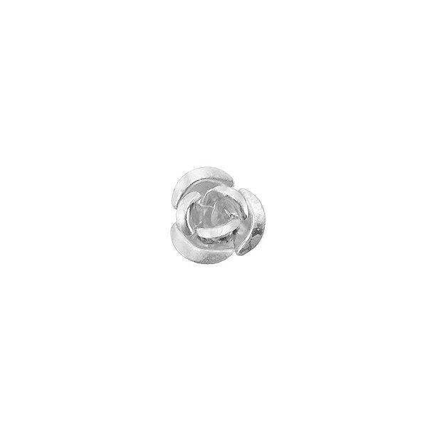 01-0969 - Pacote com 1000 Contas Flor em Alumínio 15mm