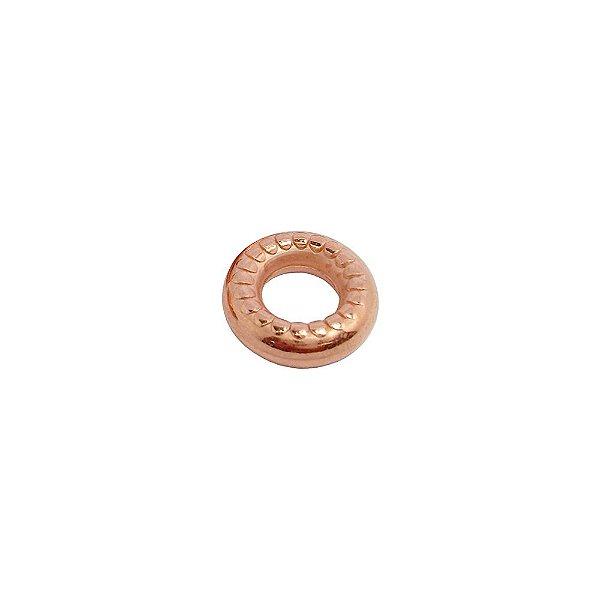 00-0303 - Pacote com 1 Kg de Argola em ABS com Detalhes 16mm