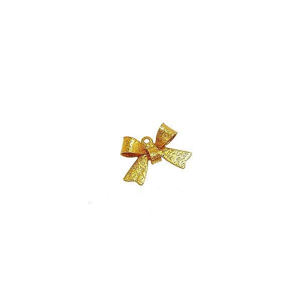 01-0539 - Pacote com 1000 Pingentes Diamantados Laço 10mmx15mm