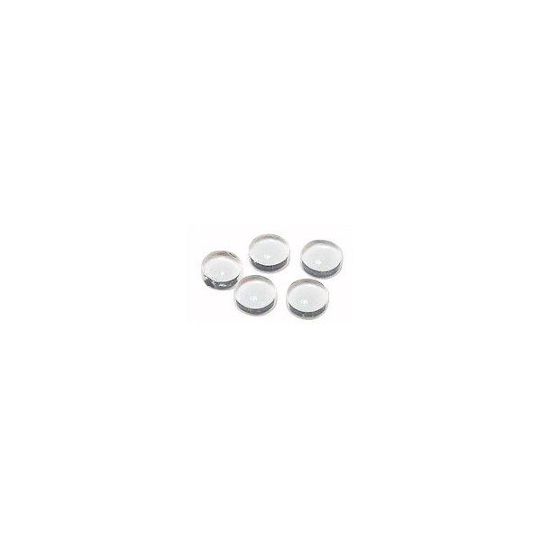 11-0163 - Bandeja com 720 Chatons de Vidro Redondo Cristal 6mm