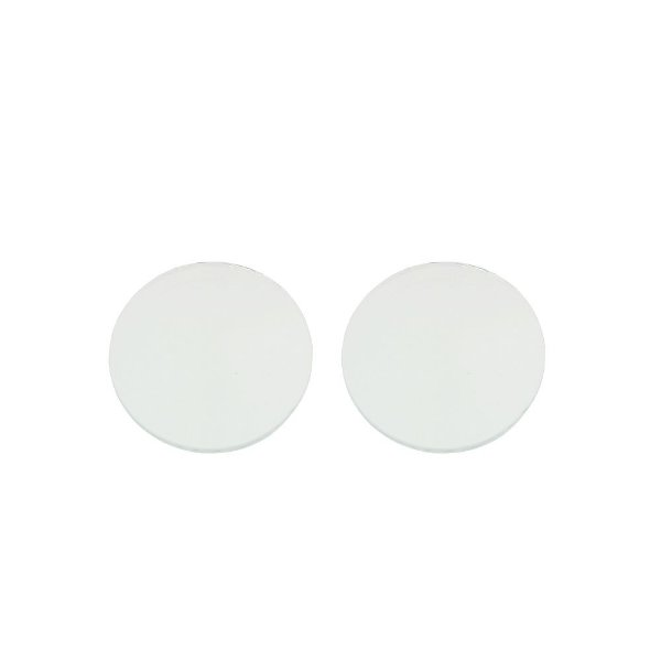 11-0151 - Pacote com 100 Pastilhas de Vidro Redondas Cristal 22mm