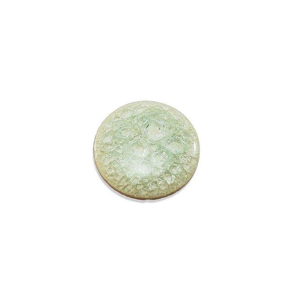 11-0138 - Pacote com 10 Chatons de Porcelana Redondos 33mm
