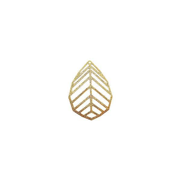 01-1753 - 1/2Kg de Estamparia Diamantada Folha Geométric 34mmx22mm