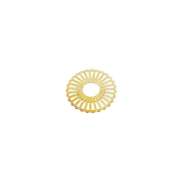 01-1635 - 1/2Kg de Estamparia Diamantada Íris Média 23mm