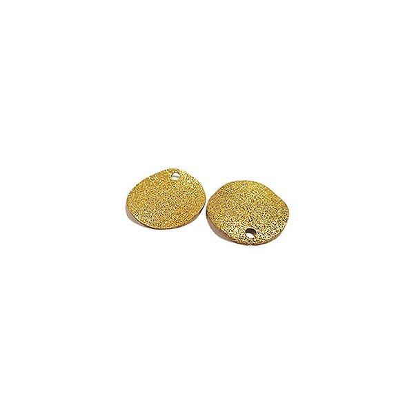 01-1201 - 1/2Kg de Estamparia Diamantada Redonda Ondulada 15mm
