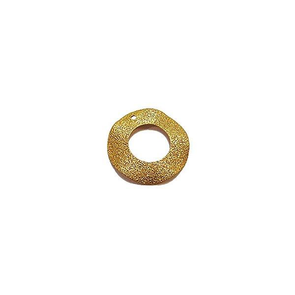 01-1196 - 1/2Kg de Estamparia Diamantada Círculo Ondulado 20mm