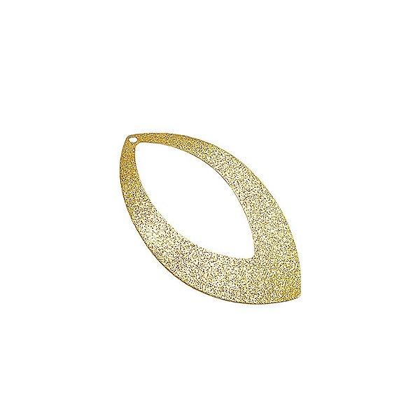 01-1029 - 1/2Kg de Estamparia Diamantada Navete 42mmx24mm